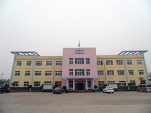 Front of office building